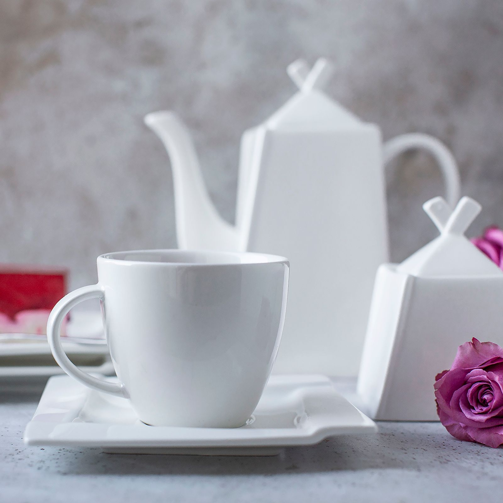 Komplet kawowy Kubiko 220 ml 29-elementowy AMBITION