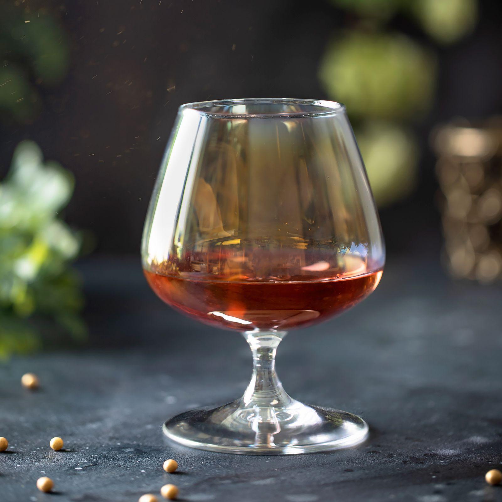 Set of 2 cognac glasses Celeste Golden Chameleon 410 ml LUMINARC