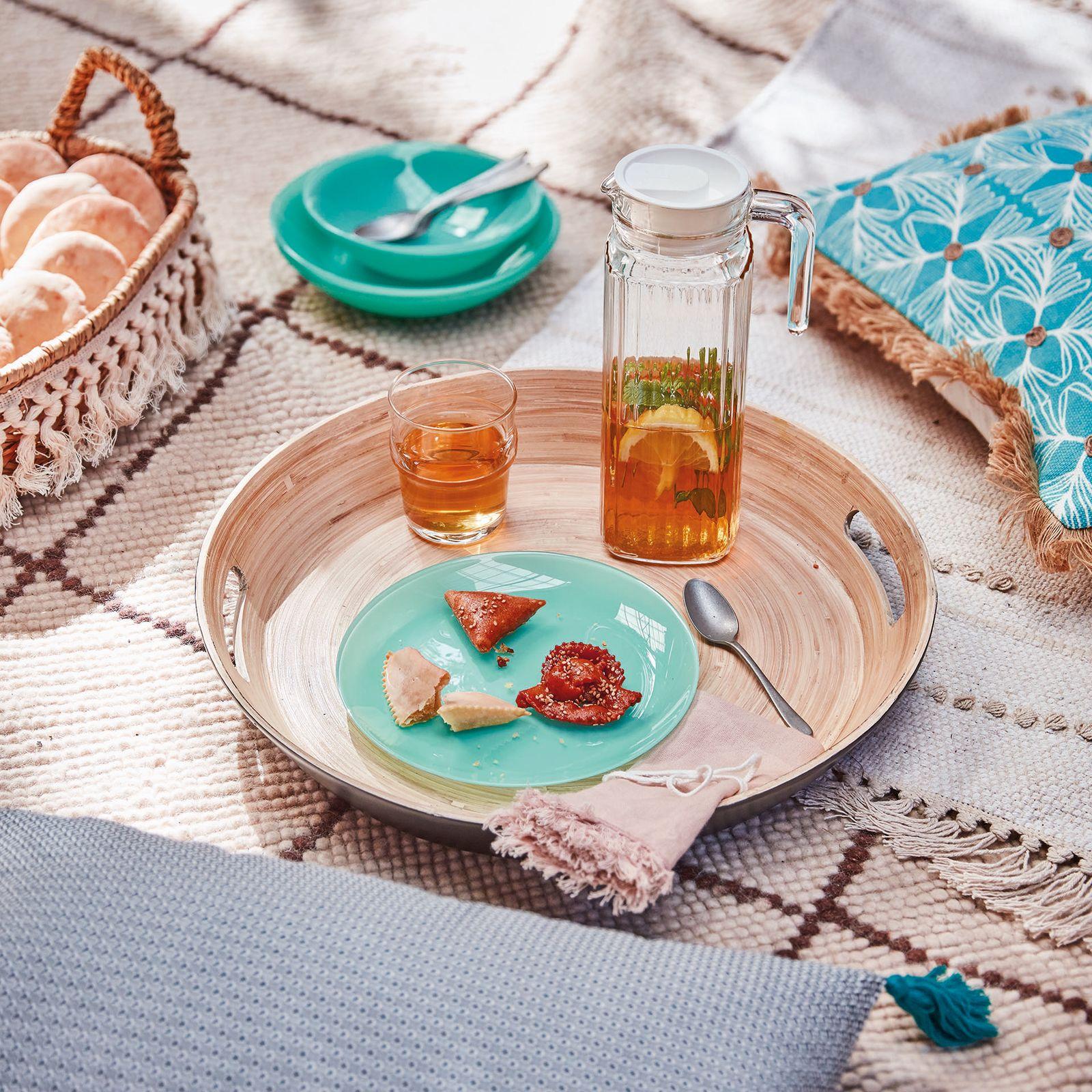 Assiette à dessert Arty Menthe 20,5 cm LUMINARC