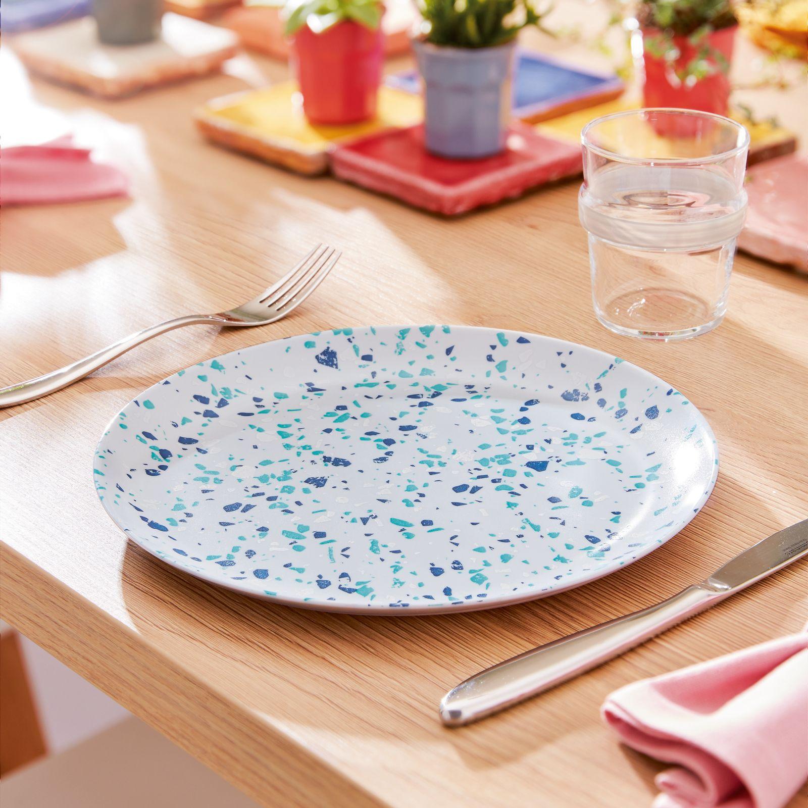 Talerz obiadowy Venizia Granit 25 cm LUMINARC